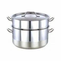 Stainless Steel Pot Steamer With Strainer