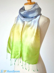Pure Mulberry Soft Hand Dyed Scarf