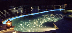 Swimming Pool Fiber Optic Lights