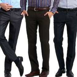Multicolor Formal Men's Trousers