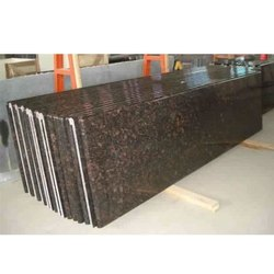 Polished Slab Ten Brown Granite, Flooring, Thickness: 15-20 mm
