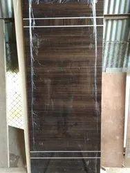 Brown Wood Door