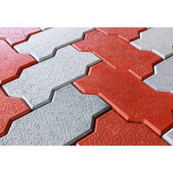 Zigzag Concrete Paving Block