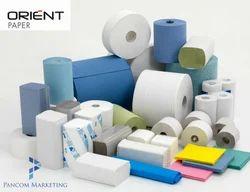 White Orient Soft Tissue - Napkin Grade
