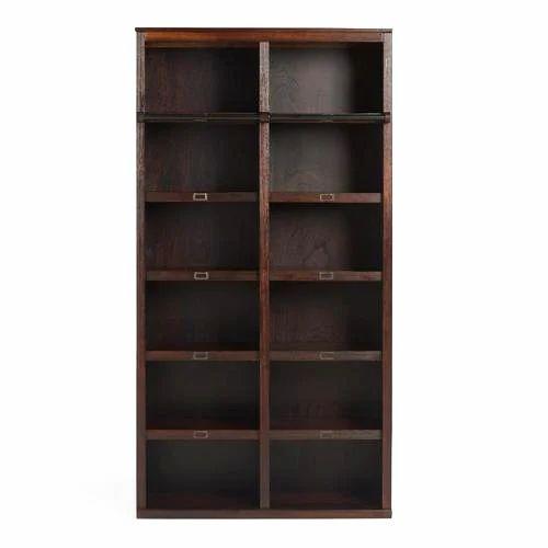 Interfurn Dark Brown Wooden Bookshelf