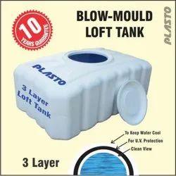 Plasto White Kitchen Tank