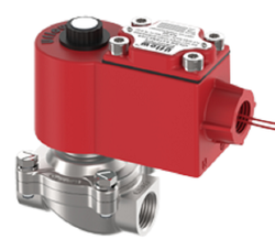 3/4 Semi Lift Diaphragm Operated Solenoid Valve (NC) (NPT) (FLP)