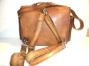 Heavy Duty Real Leather Shoulder Bag