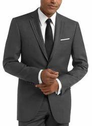 Wedding Plain Black 3 Piece Suits