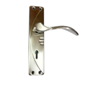 Stainless Steel Silver Ss Mortise Door Handle