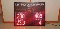 Cricket LED Scoreboard