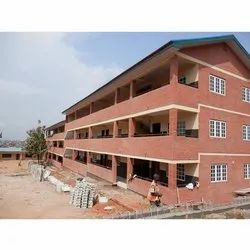 Marble Commercial Projects School Building Construction Service