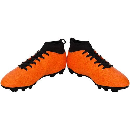 Men Mens Orange Football Boots, Size: 6