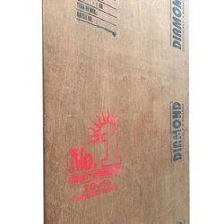 Brown Wooden Plywood, Thickness: 19mm, Size: 8 X 4 Feet
