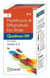 Moxifloxacin 0.5% With Difluprednate 0.05% Eye Drops (Quadmox-Dp)