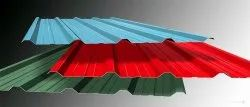 Gi Galvanized Color Coated Sheet, Thickness: 0.40mm To 0.90mm