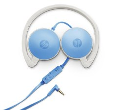 Wired Over The Head HP H2800 India Headset (Blue)