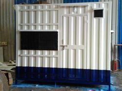 Color Coated Prefabricated Office Cabin