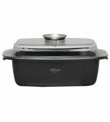 Hoffner Die-Cast Aluminum Rectangle Roaster Pot 5.3L
