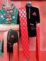 Velvet Bandhgala Coat, Size: S-XXL