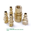 Brass QRC Quick Release Couplings