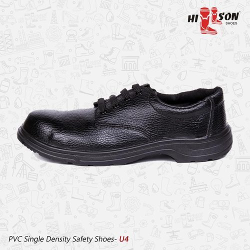 Black All Sizes U4 - Safety Shoes For Automobile Industry