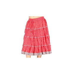Block Print Pure Cotton Skirts