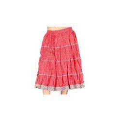 Block Print Pure Cotton Skirts