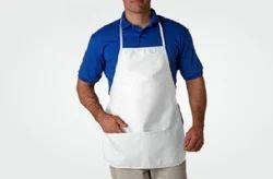 White Plain Kitchen Cooking Apron