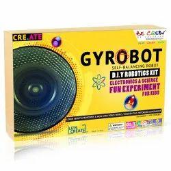 Gyro Bot Diy Educational Electronic Activity Toy, Packing Type: Box