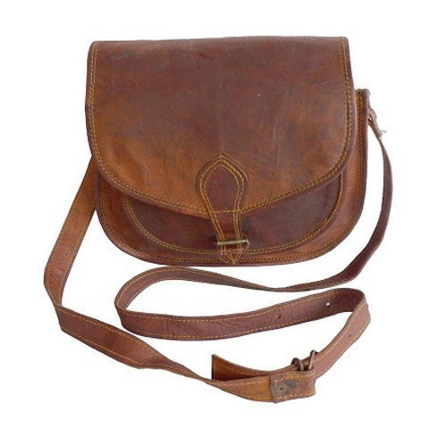 6f01f7474 Manufacturer of Duffle Bag & Leather Sling Bag by Yogeta Leather Bag ...