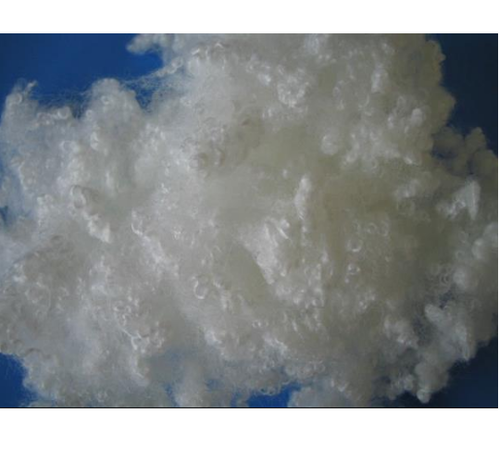 White Carded Hollow Siliconise Fibers, For Carding
