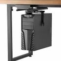 """Under-desk Keyboard Tray/cpu Mount Track Spacer For Sit-stand Desk (3.2"""" Height)"""