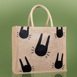 Trendy Jute Shopping Bag