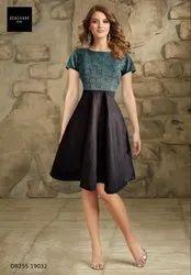 Western Fancy Party Wear Dress, Size: S (30-32 In), M (34-36 In)