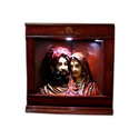 Rajasthani Royal Couple- Night Lamp-triangular And Corner Shaped Decorative Night Lamp