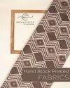 Cotton Dabu Printed Fabric For Garments