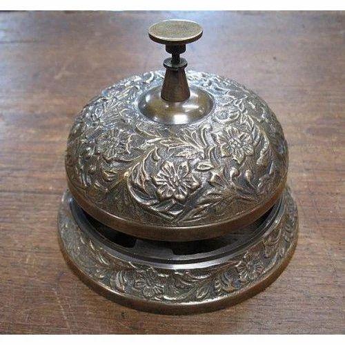 Brass Office Desk Bell Size 3 Inch