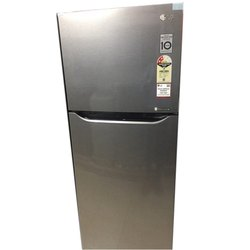 Silver 4 Star LG Double Door Refrigerator