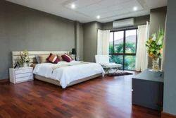 Brown Bedroom Wooden Flooring, 18-20mm