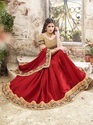 Royal Red Saree