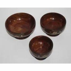 Handmade Wooden Bowl Set