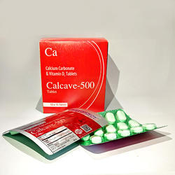 Calcium Carbonate & Vit D Tablets