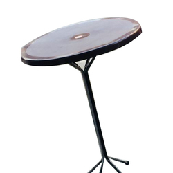 Round Standing Table Gol Mez गल मज रउड टबल - Standing table for restaurant