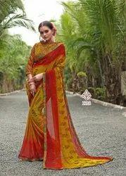 Printed Weightless Saree