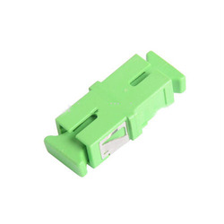 Apc Fiber Optic Adapter, Catv, lantth, network Or Broadband