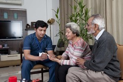 Patient Geriatic Care At Home