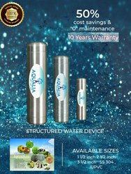 Latest, Vortex Technology AQUALIA Structure Water Device, Capacity: 14.1 L and Above