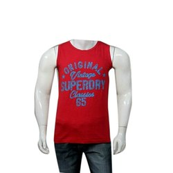 391310b5 Cotton Round Neck Men Sleeveless T Shirt, Size: XXL, Packaging Type: Packet