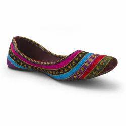 Resham Zari Work Ballerina Sandals 305